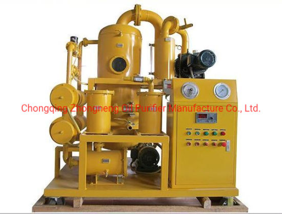 Double Stage Vacuum Transformer Oil Purification Machine