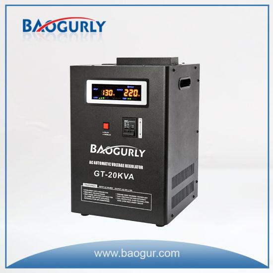 20kVA Digital AVR Relay Wall Mount Voltage Stabilizer