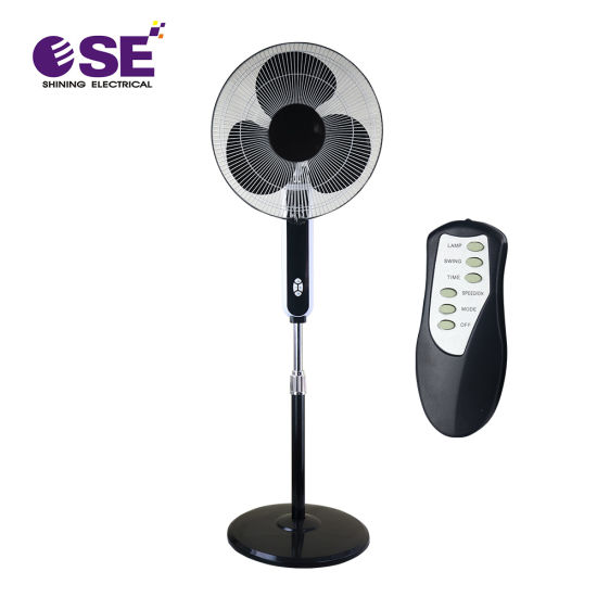 Economical Price Electrical Home 16 Inch Stand Fan with Remote Control