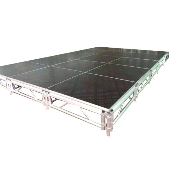 Outdoor Stage Design Movable Truss Stage Aluminum Stage Platform