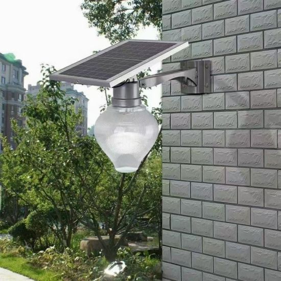 Quality Apple Shape Solar LED Wall Lighting in Garden and Street