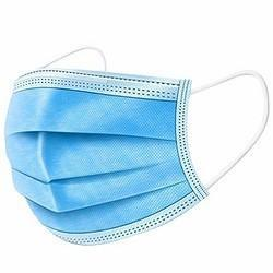 High Quality Disposable 3 Ply Adult Anti Splash Dust Pm2.5 Virus FDA 510K CE En149 En14683 Approved Non Woven Fabric Blue Medical Face Mask