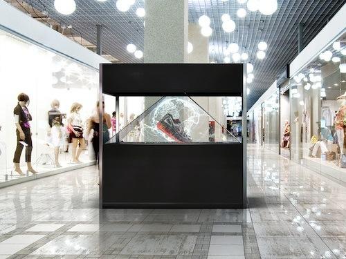 3D Hologram Advertising Showcase / Holo Box / Holographic Display