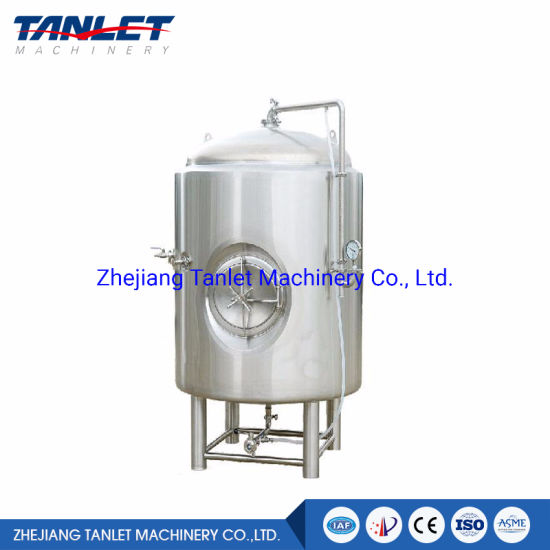 100L~20t Bright Beer Tank Conical Fermentation Tank