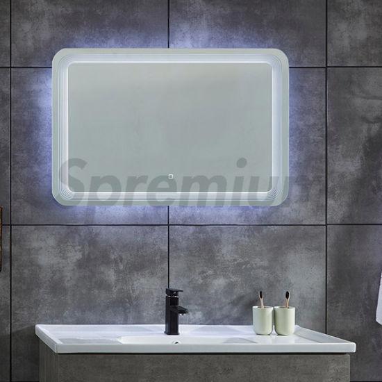S4619wall Hung Rectangular Bathroom, Rectangular Bathroom Mirror