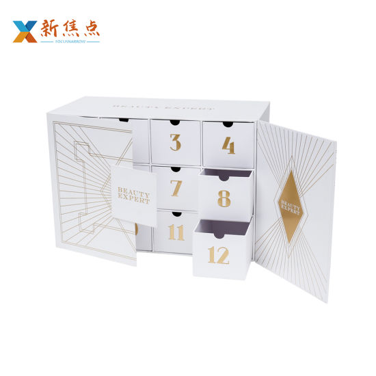 Hot Sale Fashion Design Printing Carboard Gift Packaging Drawer Box