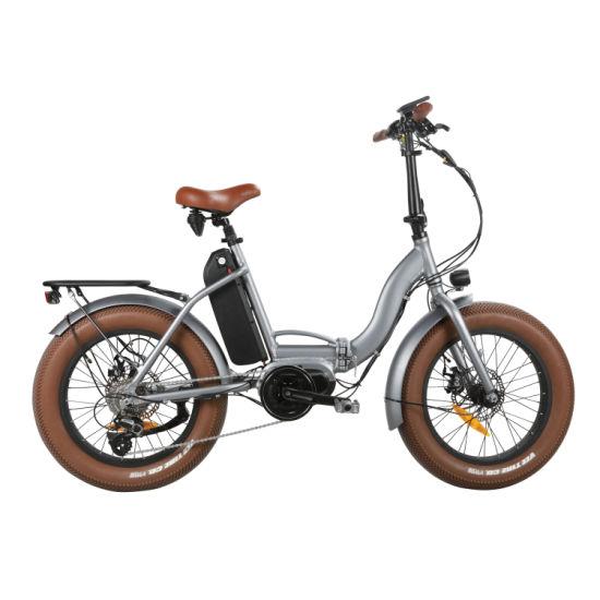 7 Speed MID Drive Folding Bike