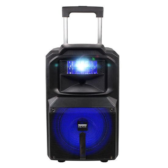 12 Inch Disco Light Party Powerful Heavy Bass Bluetooth Trolley Speaker