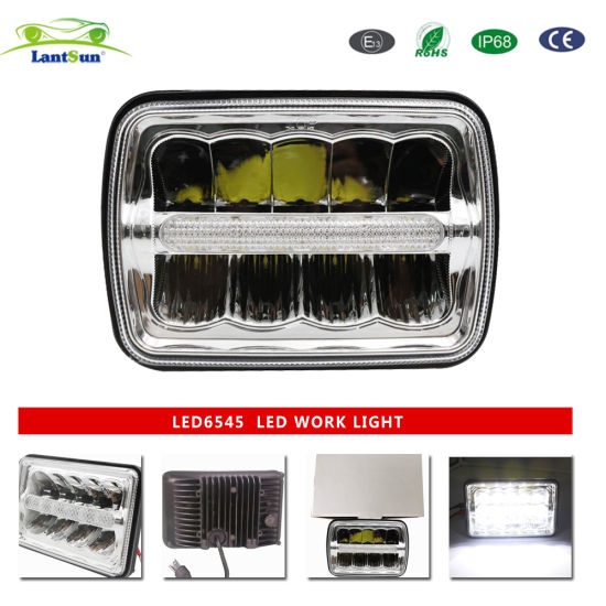 Wholesale Price 24V for Jeep Working Light Movable Cube LED Work Light LED6545 pictures & photos