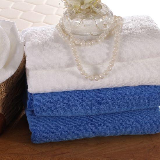 100% Cotton Dobby Custom Embroidery Terry Star Hotel Towel Set