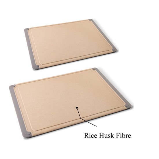 New Health Concept Rice Husk Fiber Cutting Board