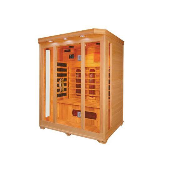 Luxury Home Sauna Room Far Infrared Sauna Room for 3 People (QD-C3)