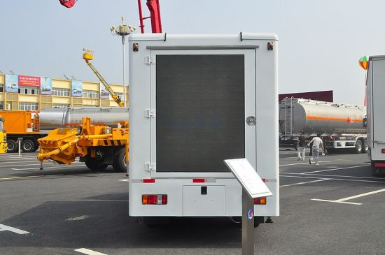 LED Video Advertising Vehicles, Moving LED Displays Truck Mounted Stage pictures & photos