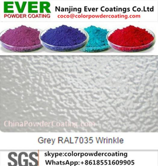 China Electrostatic Painting Gun Matt Ral7001 Powder Coating China