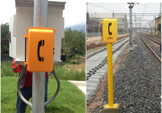 Railway Emergency Telephone Roadside Help Point Sos Telephone