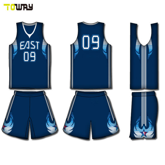 China 2018 Oem Customized Sublimation Basketball Jersey Uniform