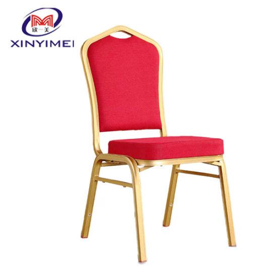 Stacking Aluminum Restaurant Wedding Banquet Hotel Chair (XYM-L18)