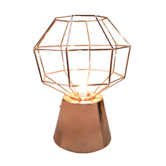 China Simple Designs Vintage Copper Table Lamp For Bedroom Home - Vintage table lamps for bedroom