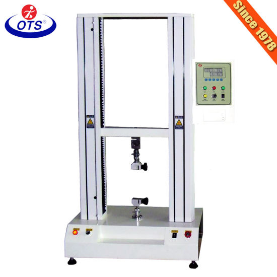 Electronic Universal Tensile Strength Testing Machine for Fabric Plastic Clothing