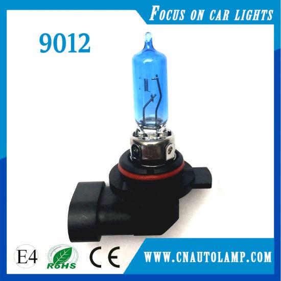 Halogen Type 12V 55W Hir2 9012 Headlight Bulb Super White
