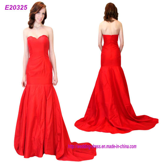 New Arrival Long Evening Prom Dresses Strapless Formal Gowns