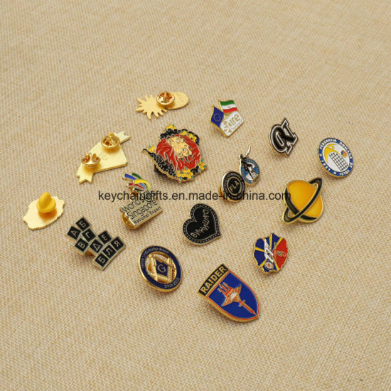 High Quality Factory Supply Metal Customized Memoriam Badge