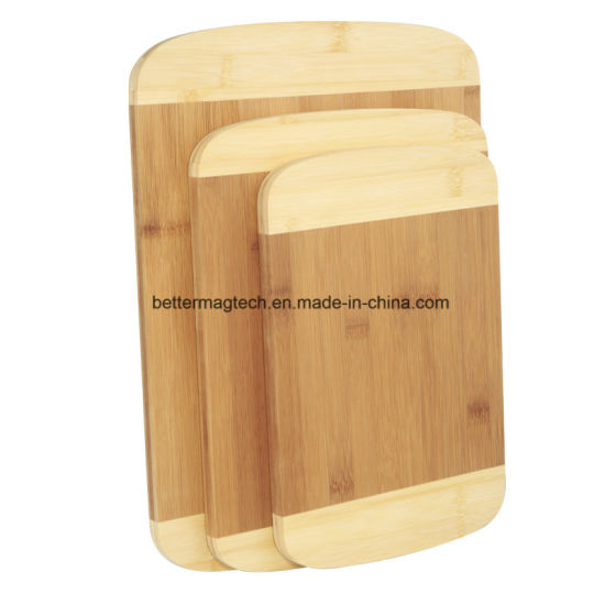 Bamboo Chopping Board At Square Round Shapes
