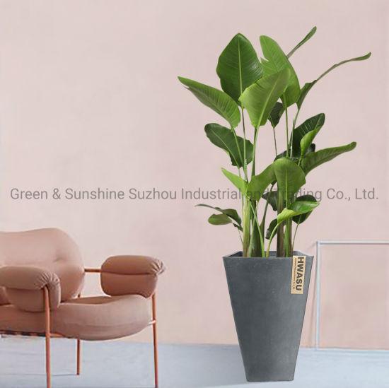 Wholesale Manufacturer Price Plastic Decoration Flower Pot Nursery Pot Tall Thick Square Plastic Flower Pot Plant Pot Garden Planter
