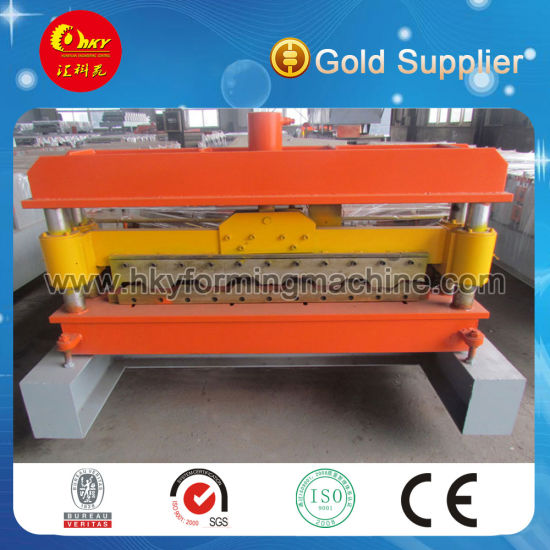 Corrugated Zinc Roof Sheet Roll Forming Machine pictures & photos