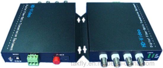 China 4 Channel 1080p Cvi Tvi Ahd Fiber Optical Video Converter