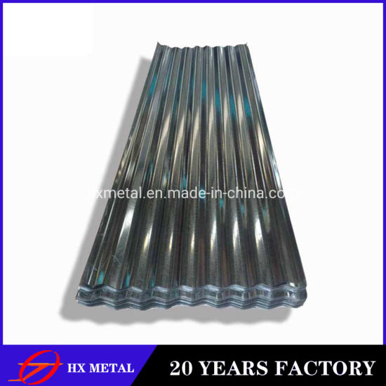 Hot Dipped Galvanized Non Alloy Corrugated Cold Rolled Mild Steel Plate for Roofing Sheet