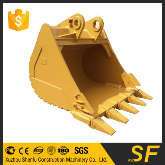 China Excavator Bucket Parts Xzshenfu Heavy Duty Bucket with Rock ...