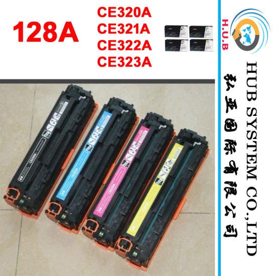 Color Printer Cartridge HP CE320A (HP 128) / CE310 (HP 126 color cartridge) / New Hologram