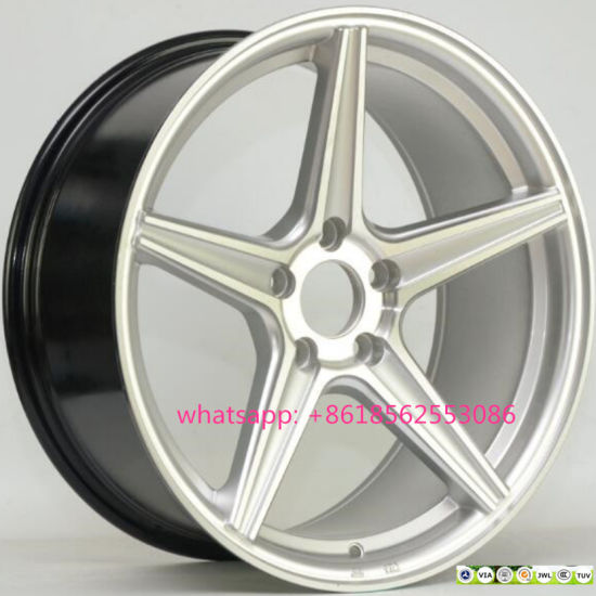 Aluminum Concave Rims Replica Alloy Wheels for Audi Benz VW pictures & photos