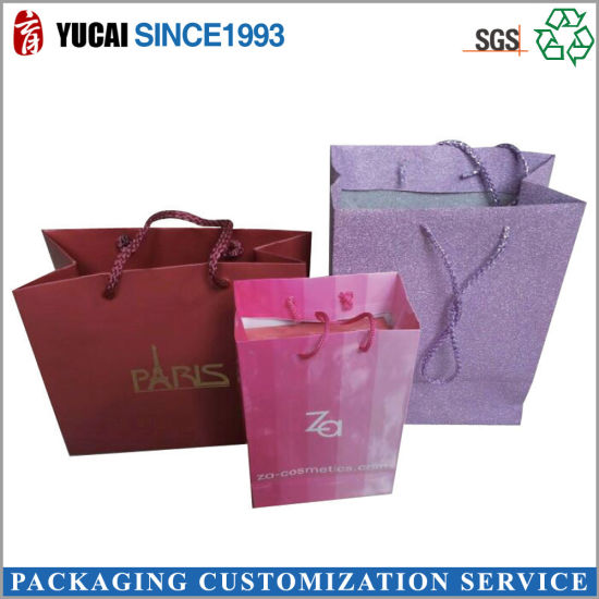 Customized Cosmetics Bag Paper Bag Shopping Bag pictures & photos
