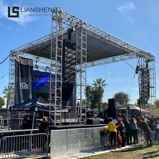 Outdoor Concert Show Event Display Aluminum Stage Lighting Spigot Truss for Sale