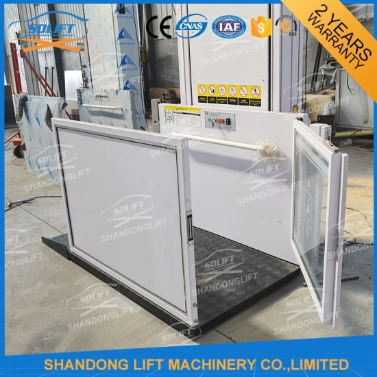 Hydraulic Wheelchair Disabled Lift Outdoor Electric Lift for Disabled People pictures & photos