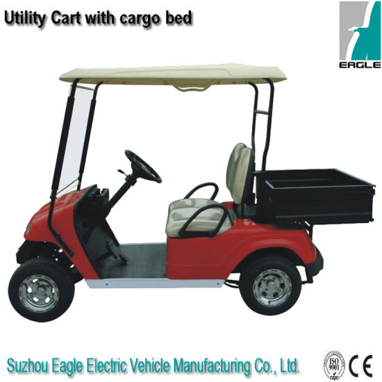 Utility Golf Car From China, with Cargo Bed