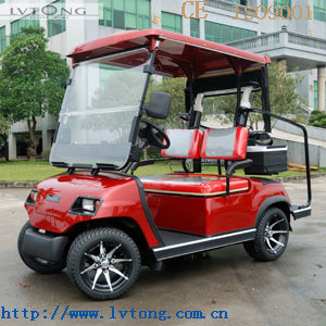 Easy Handle 2 Seaters Electric Golf Cart