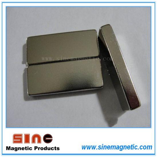 Block NdFeB/ Rectangle Neodymium (N52/ N50)