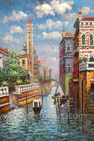 Handmade Venice Scene for Personal Collection pictures & photos