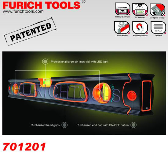 Spirit Level with LED Light (701201) pictures & photos