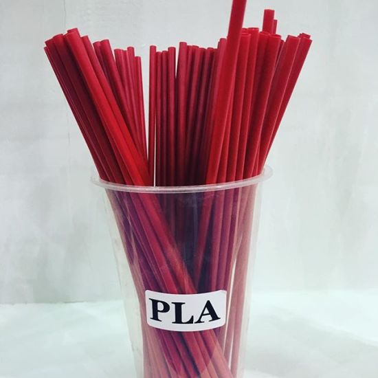 6*210mm Common Size PLA Eco-Friendly Drinking Straw pictures & photos