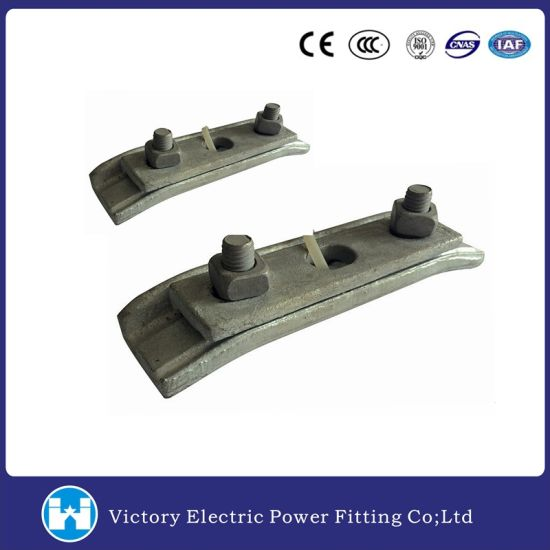 Drop Forged Steel Galvanized Cable Suspension Clamp pictures & photos