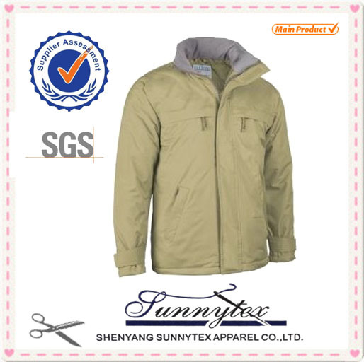 OEM Manufactory Workwea Men Clothes Padded Winter Jacket pictures & photos