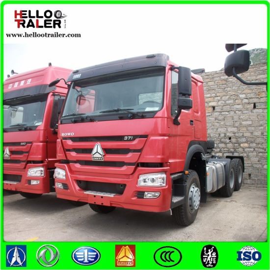 China HOWO 6X4 Tractor Truck 338HP Heavy Diesel Tractor Truck pictures & photos
