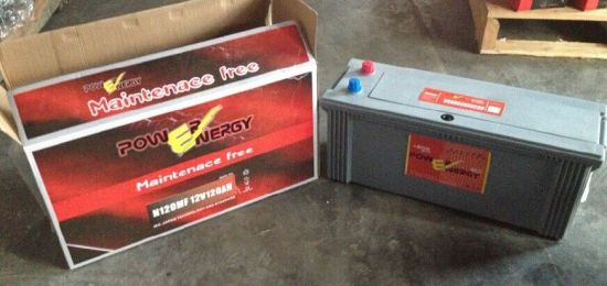 N120mf 12V120ah Maintenance Free Lead Acid Car Storage Battery pictures & photos