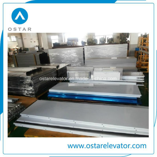 700mm, 800mm Mitsubishi Type Landing Mechanism Elevator Landing Door (OS31-01) pictures & photos