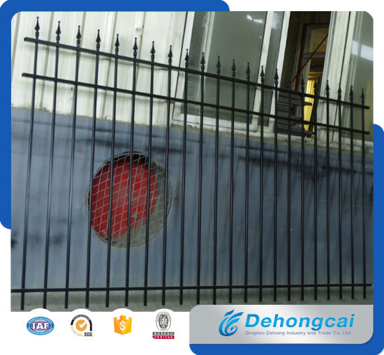 High Quality Wrought Iron Ornaments Fencing / Aluminum Fence for Garden pictures & photos