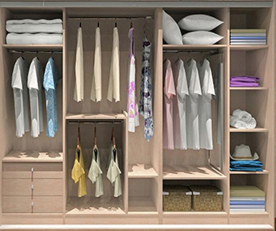Modular Closet For Modern Design Bedroom Furniture (Br 28 A)